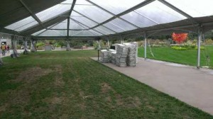 large tent entry way looking NE-00