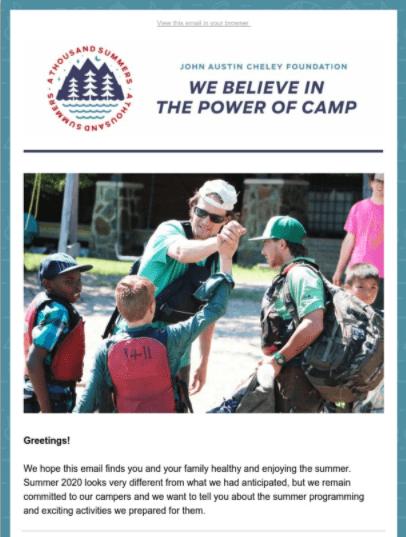 August E-Newsletter